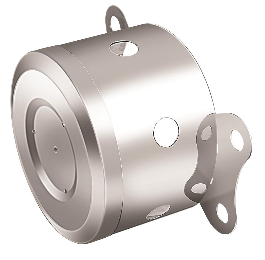 "VKWT Axle Cover Rear Small 151 mm 19.5"""" RVS"