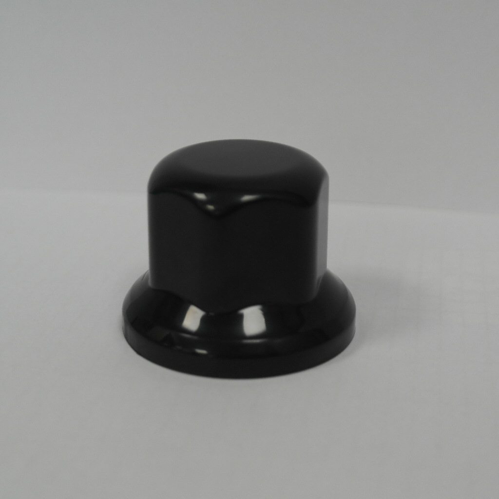 "VKWT Wheel Nut Cap 33"" - Small 40 mm Plastic Black"
