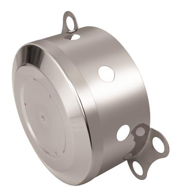"VKWT Axle Cover Small 152 mm 22.5"" RVS"