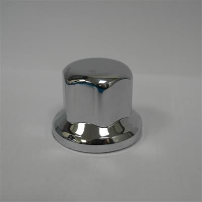 "VKWT Wheel Nut Cap 33"" - Small 40mm Plastic Nickel"