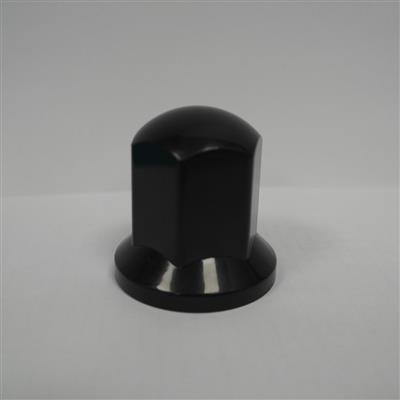 "VKWT Wheel Nut Cap 33"" - Large 54 mm Plastic Black"